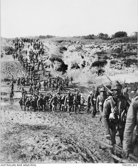 British infantry crossing the Vaal River