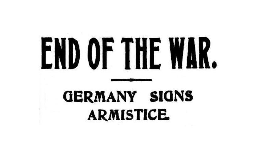 Armistice – but notfreedom