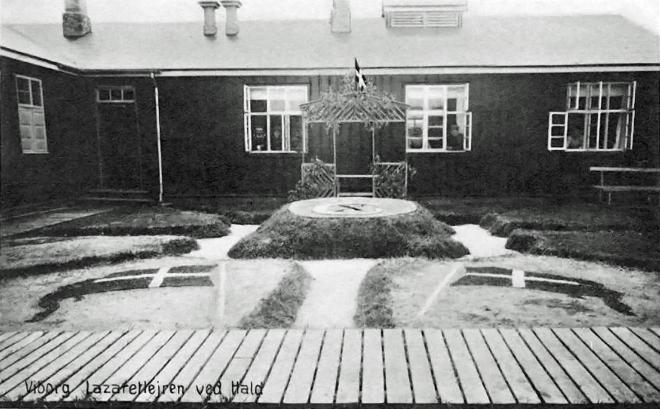 Viborg Lazarette at Hald, Denmark