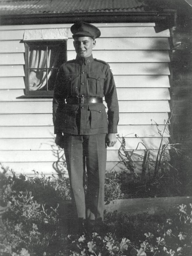 Ronald Andrew Palmer circa 1940